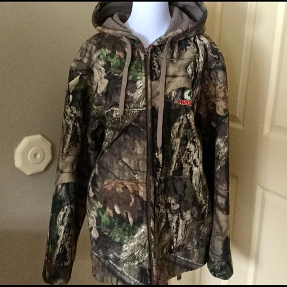 f9f72dd2b0fd4 Mossy Oak Jackets & Coats | Mens Heavy Hooded Coat Size 4244 Euc ...